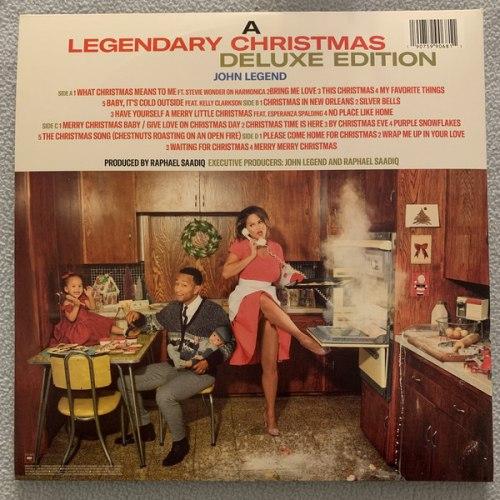 Виниловая пластинка JOHN LEGEND - A LEGENDARY CHRISTMAS (DELUXE EDITION, 2 LP)