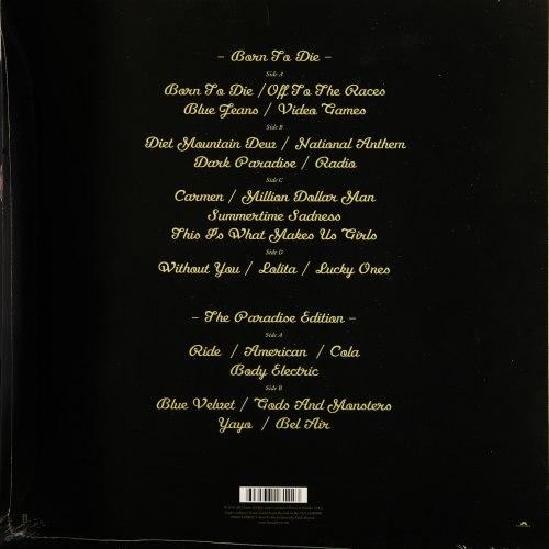 Виниловая пластинка LANA DEL REY - BORN TO DIE (PARADISE EDITION)