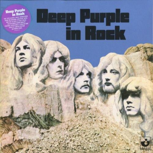 Виниловая пластинка DEEP PURPLE - IN ROCK (180 GR)