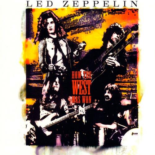 Виниловая пластинка LED ZEPPELIN - HOW THE WEST WAS WON (4 LP)