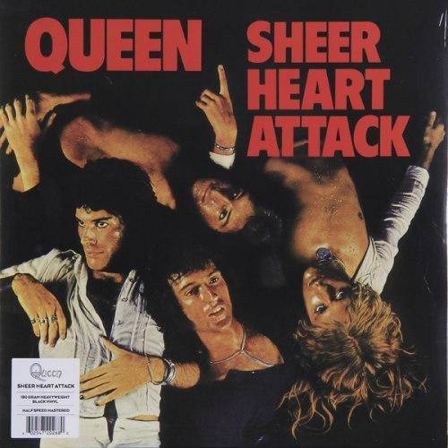 Виниловая пластинка QUEEN-SHEER HEART ATTACK (180 GR)