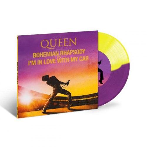 "Виниловая пластинка QUEEN - BOHEMIAN RHAPSODY/ I'M IN LOVE WITH MY CAR (7"", COLOUR)"