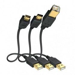 Акустический кабель Inakustik USB2.0A-USBB Premium