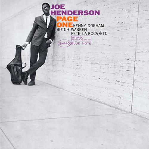 Виниловая пластинка JOE HENDERSON - PAGE ONE