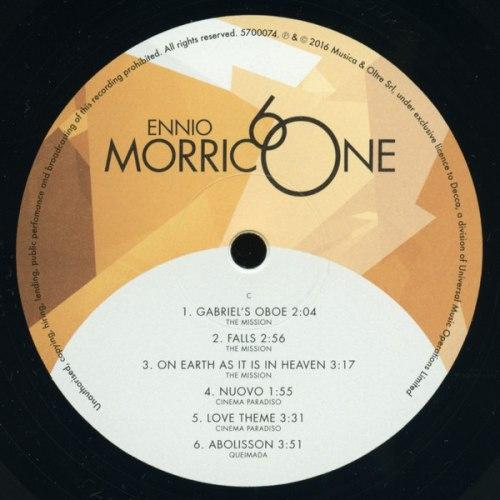 Виниловая пластинка ENNIO MORRICONE - MORRICONE 60 (2 LP)