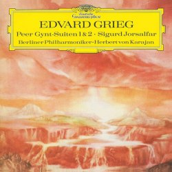 Виниловая пластинка HERBERT VON KARAJAN - GRIEG: PEER GYNT SUITE NO.1; SUITE NO.2; SIGURD JORSALFAR