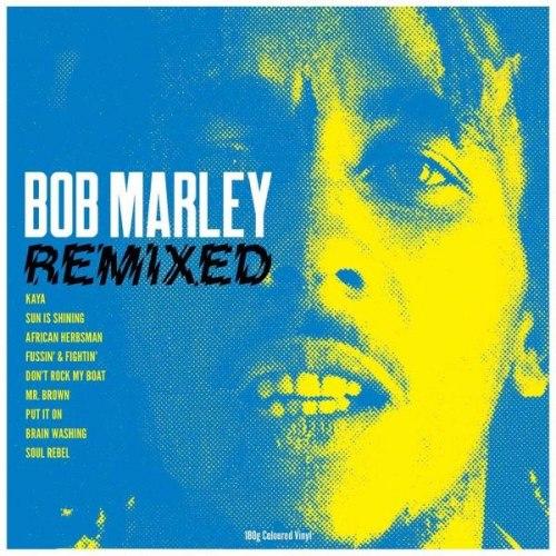 Виниловая пластинка BOB MARLEY - REMIXED (180 GR, COLOUR)