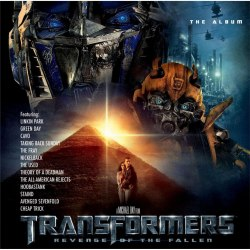Виниловая пластинка САУНДТРЕК - TRANSFORMERS: REVENGE OF THE FALLEN - THE ALBUM (2 LP, COLOUR)