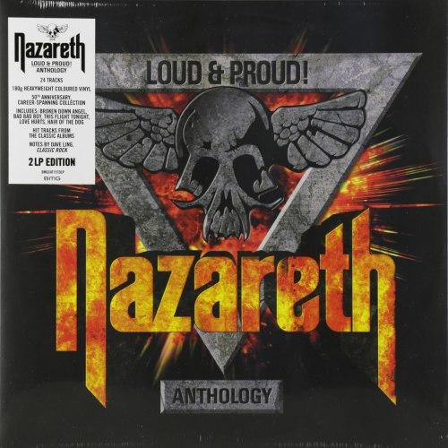 Виниловая пластинка NAZARETH - LOUD & PROUD! ANTHOLOGY (2 LP, COLOUR)
