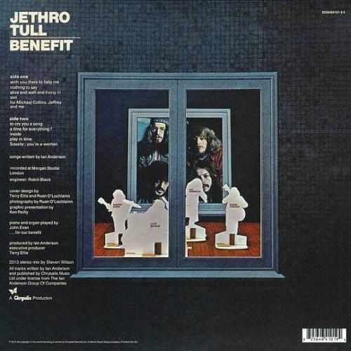 Виниловая пластинка JETHRO TULL - BENEFIT (180 GR)