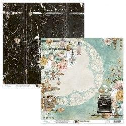 Набор бумаги Life Stories, 24 листа + 2 для вырезания, 15 х 15 см., Mintay Papers