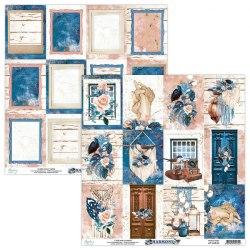 Набор бумаги Harmony, 24 листа + 2 бонусных листа, 15 х 15 см., Mintay Papers