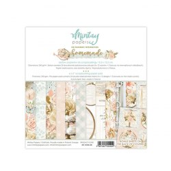 Набор бумаги Homemade, 24 листа + 2 бонусных листа, 15 х 15 см., Mintay Papers