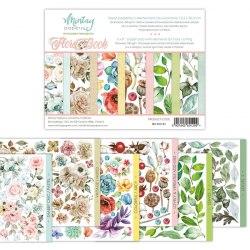 Набор для вырезания Flora Book, 6 листов, 15х20 см. Mintay Papers