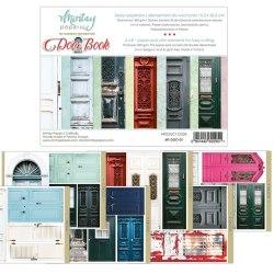 Набор для вырезания Door Book, 6 листов, 15х20 см. Mintay Papers