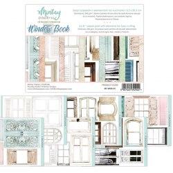 Набор для вырезания Window Book, 6 листов, 15х20 см. Mintay Papers