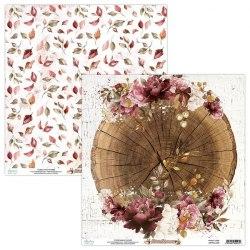 Набор бумаги Fall Festival, 12 листов + 1 лист для вырезания, 30 х 30 см., Mintay Papers