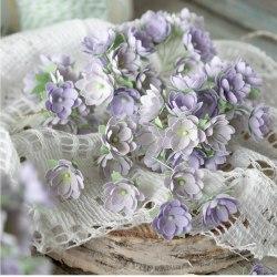 Малыши сиреневые 1 см, Pastel Flowers