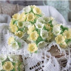 Малыши желтые 1 см, Pastel Flowers