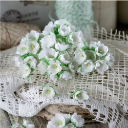 Малыши белые 1 см, Pastel Flowers