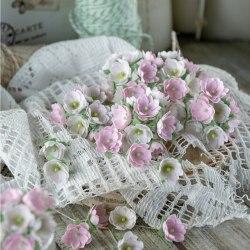 Малыши розовые 1 см, Pastel Flowers