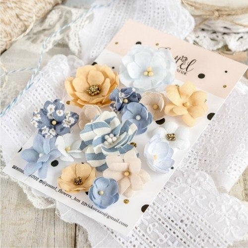 "Набор цветов ""Морской"", Pastel Flowers"