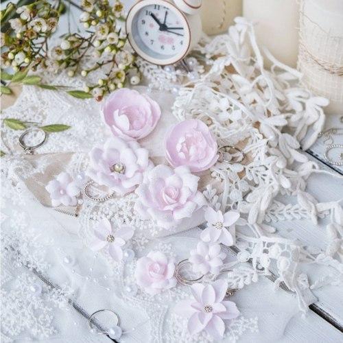 "Набор цветов ""DIAMOND"" розовый, Pastel Flowers"