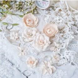 "Набор цветов ""DIAMOND"" персиковый, Pastel Flowers"