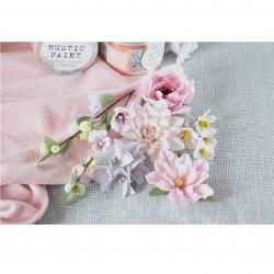 """Набор цветов """"Цветочный блюз"""" розовый, Pastel Flowers"""