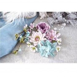 """Набор цветов """"Цветочный блюз"""" фиолетовый, Pastel Flowers"""