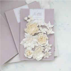 """Набор цветов """"Базовый микс"""" молочный, Pastel Flowers"""
