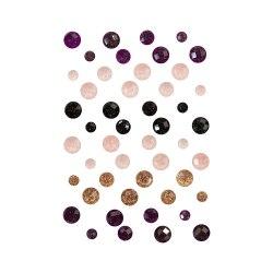 Crystals Midnight Garden кристаллы (камни), 48 штук Prima Marketing Ink