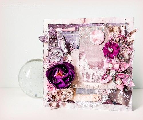 Metal Trinkets, Moon Child, набор декоративных подвесок и пуговиц Prima Marketing Ink