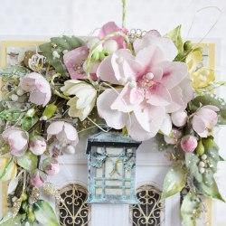 Гортензии дуболистные желто-розовые, Pastel Flowers