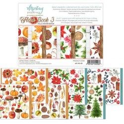 Набор для вырезания Flora Book 3, 6 листов, 15х20 см Mintay Papers