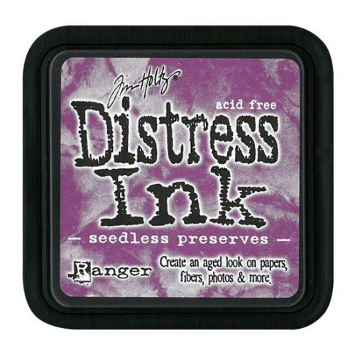 Дистресс чернила мини, Distress Ink - Seedless Preserves, Ranger 30х30 мм