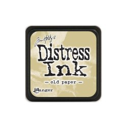 Дистресс чернила мини, Distress Ink - Old Paper Ranger 30х30 мм