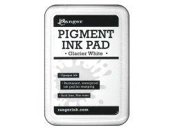 Пигментные чернила белые, pigment ink pad glacier white, Ranger