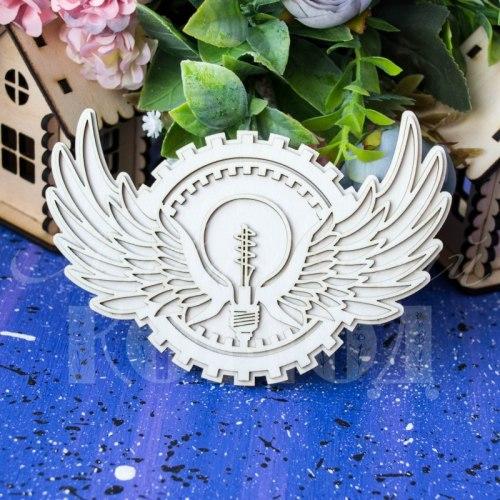 Чипборд Стим-декор 3D Лавандовый комод