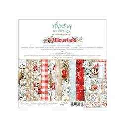 Набор бумаги Winter Land, 12 листов + 1 бонусный лист, 15 х 15 см., Mintay Papers