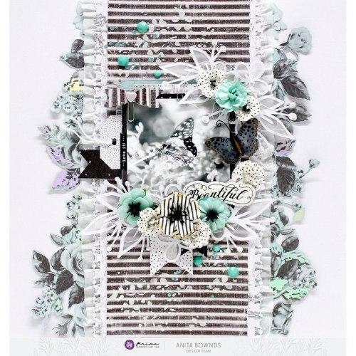 Набор цветов, Prima Marketing Ink из коллекции Flirty Fleur