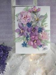 """Набор цветов """"Сиреневый закат"""" Flower magic"""