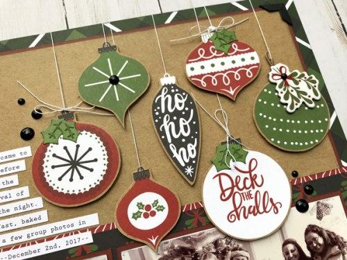 Эмалевые дотсы, 60 штук, Echo Park Celebrate Christmas