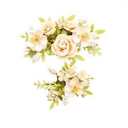 Набор цветов Humble & Kind Paper Flowers 4/Pk, Prima Marketing Ink Spring Farmhouse