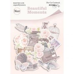 Набор высечек для скрапбукинга 36 шт, Scrapmir Beautiful Moments