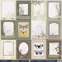 """Лист односторонней бумаги """"Карточки"""", 30x30 см. Scrapmir Herbarium Wild Summer"""