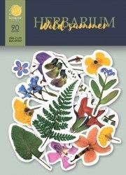Набор высечек для скрапбукинга 90 шт, Scrapmir Herbarium Wild Summer