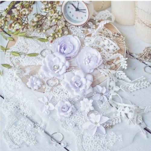 "Набор цветов ""DIAMOND"" сиреневый, Pastel Flowers"