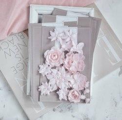 """Набор цветов """"Базовый микс"""" розовый, Pastel Flowers"""