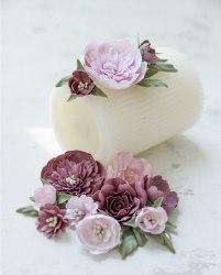 """Набор цветов """"Очарование"""" пионы и розы, Pastel Flowers"""